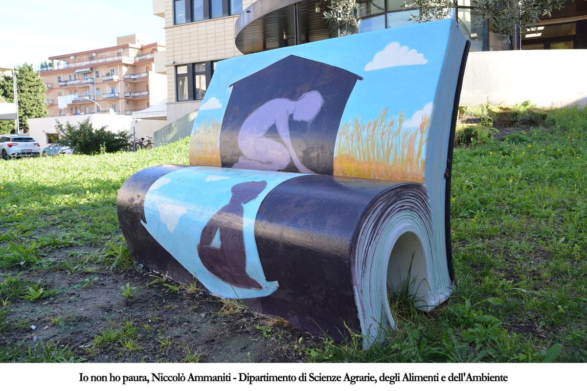 Foggia L Unifg Presenta Le Panchine Letterarie