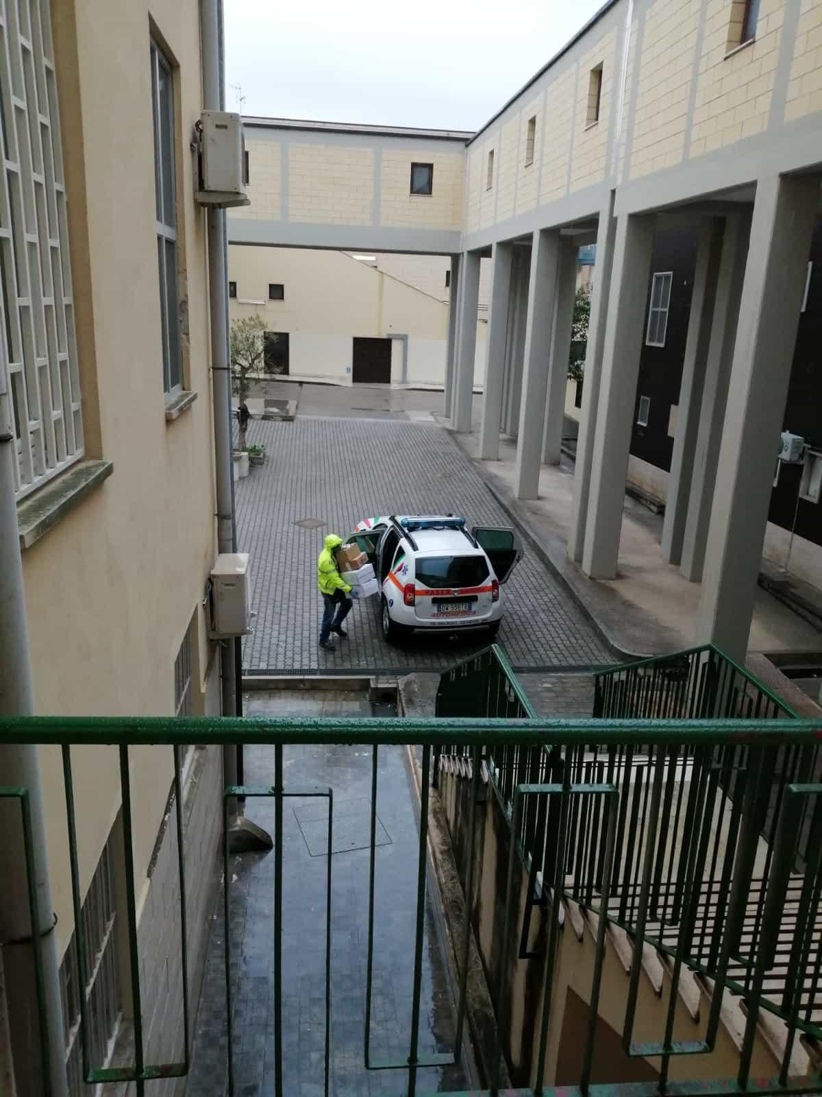 emergenza coronovirus_consegnati dpi all'ospedale di manfredonia-2
