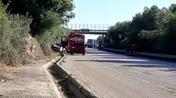 Incidente stradale strada a scorrimento veloce del Gargano-2