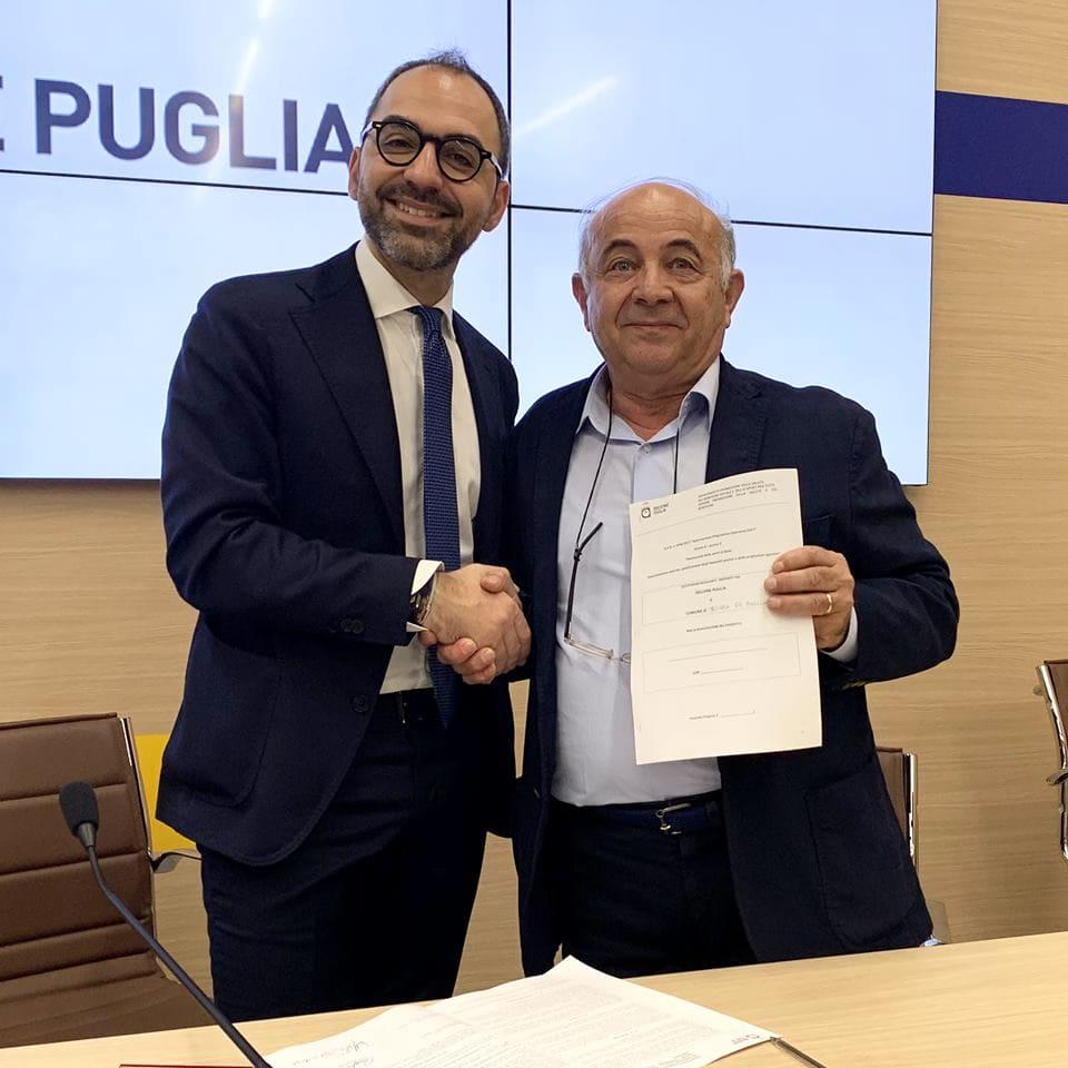 La firma del disciplinare in Regione Puglia-2