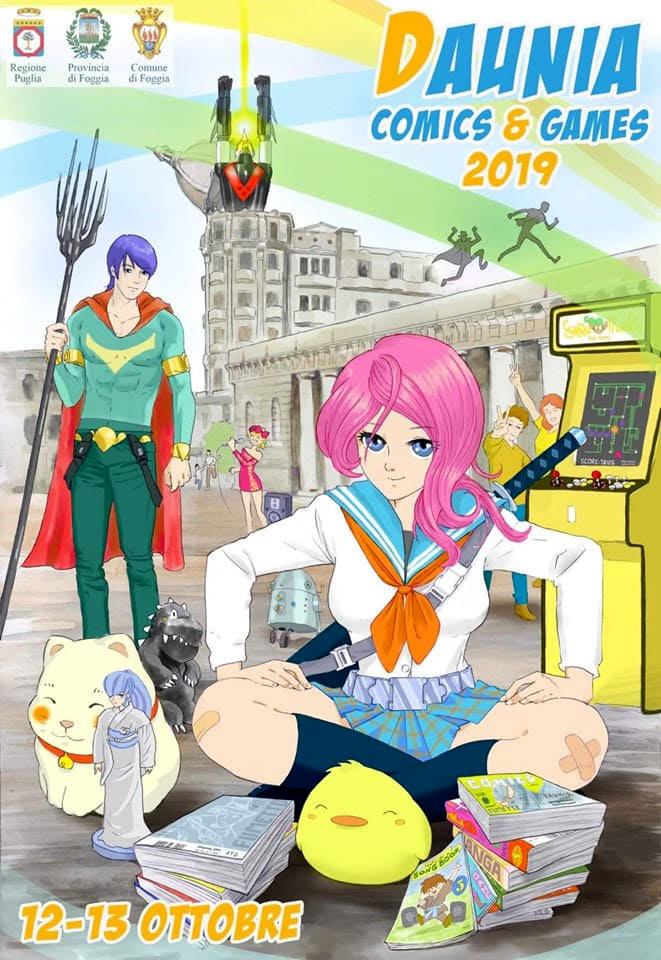 Daunia Comics 2019-2
