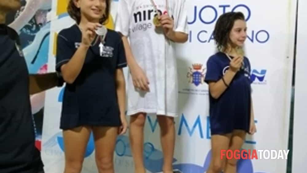 """il mirage nuoto foggia stravince con gli esordienti  al """"v trofeo citta' di cassino"""" 7 ori 7 argenti e 2 bronzi-4"""