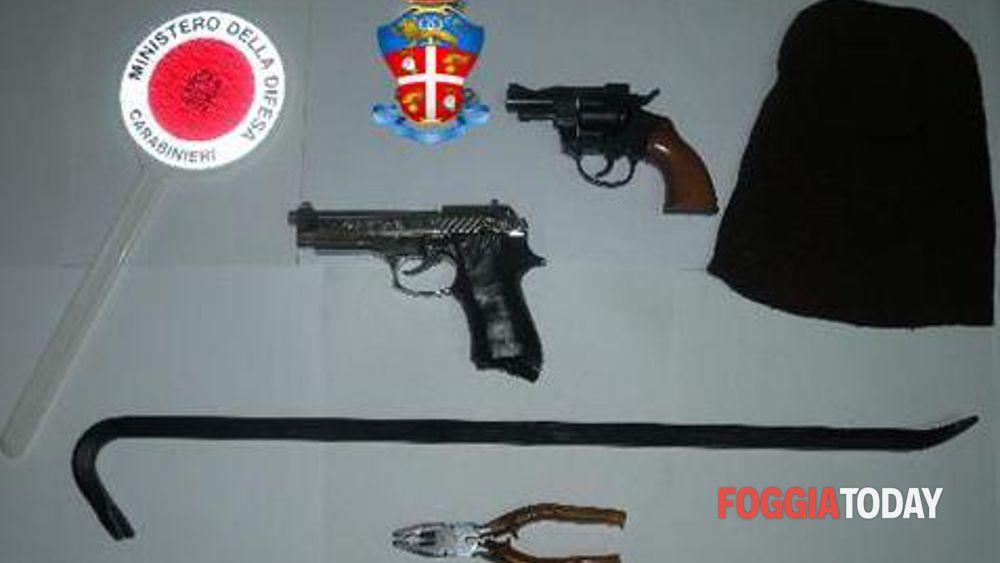 Cerignola, tentata rapina autogrill Saline Est: arrestati