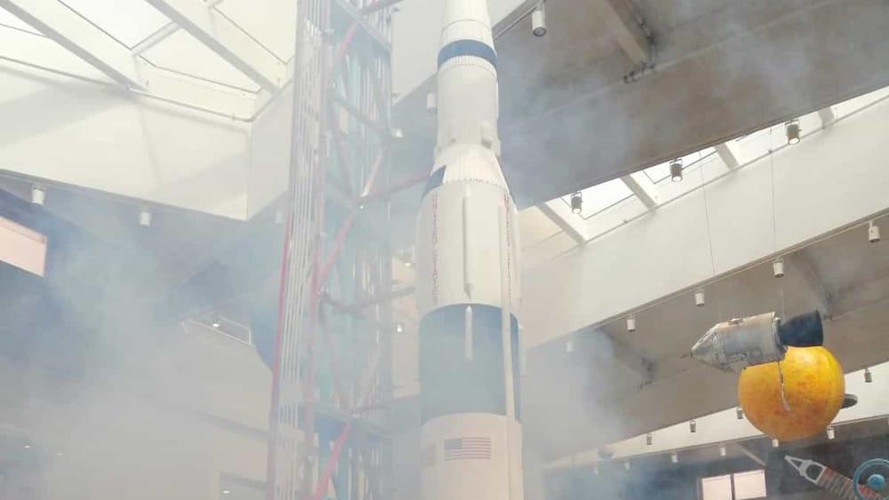 dalla-terra-alla-luna-Simulazione decollo'SATURN V'