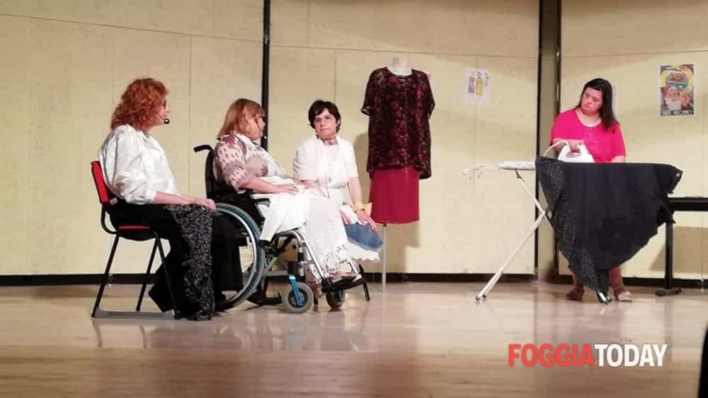 """Bellissima """"performance"""" teatrale dei ragazzi del Centro Polivalente """"La Ninfea"""" di Apricena-2"""