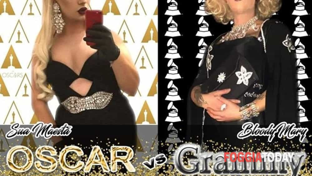 ciao dragqueen la regressione - oscar vs grammy-2