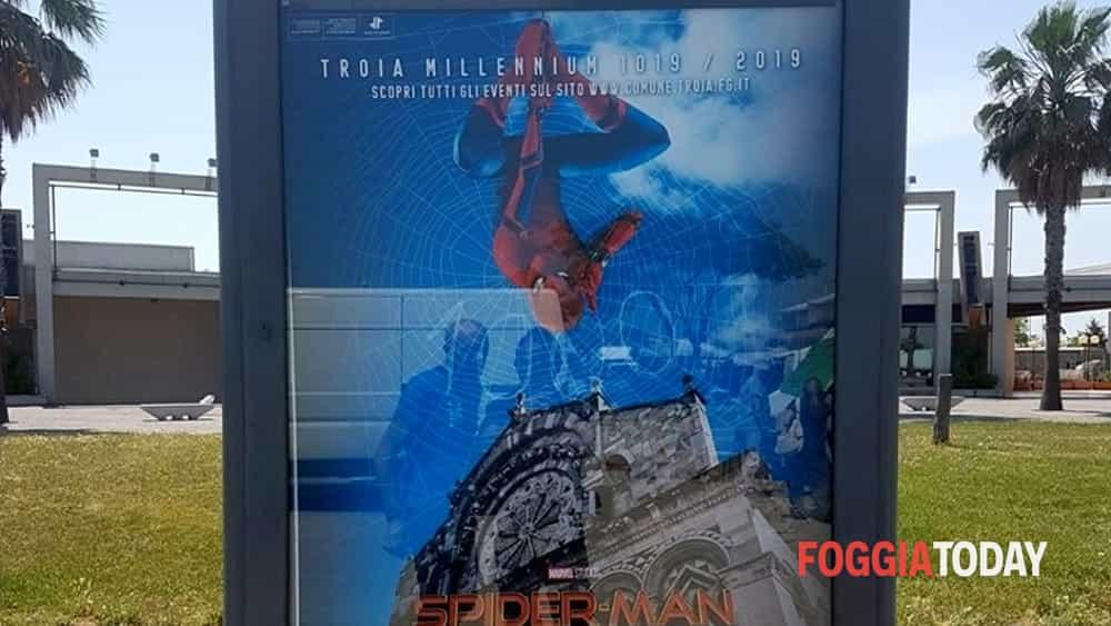 Il Millennio della città di TROIA annunciato da...Spiderman!-2