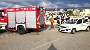 vigili del fuoco porto Manfredonia-2