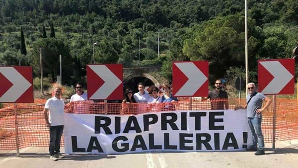 Monte Saraceno, sit in di protesta