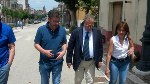 Casalvecchio, Andreano, Piazzolla e ing. Rita Acquaviva-2