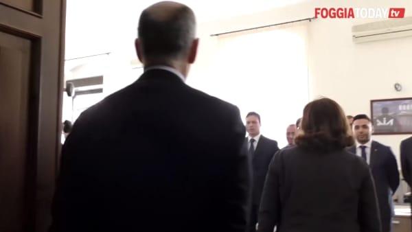 VIDEO - La DIA fa il suo ingresso a Foggia: le prime immagini girate all'interno della nuova sede