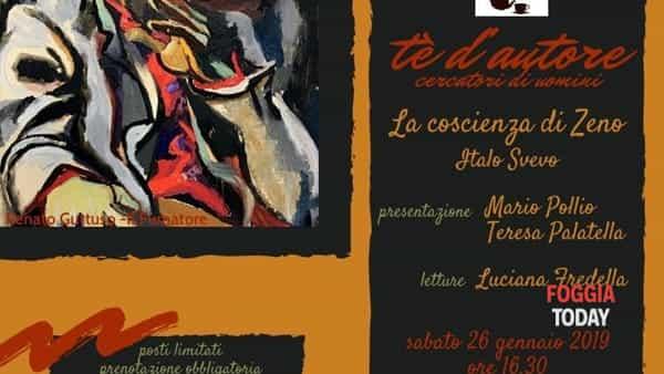 """Tè d'autore, II stagione: nel nuovo appuntamento si parla de """"La coscienza di Zeno"""""""