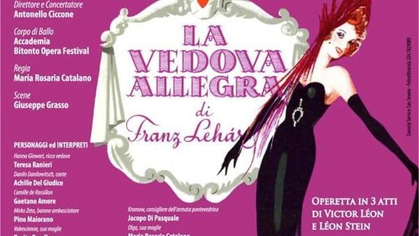 """Al 'Verdi' va in scena l'operetta """"La vedova allegra"""""""