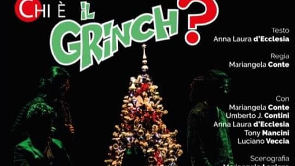 'Chi è il Grinch?' Lo spirito del Natale irrompe al Teatro della Polvere