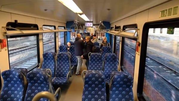 """Il Gargano è più vicino a Bari, ecco la prima volta del treno Flirt E330. L'Aeroporto di Foggia? """"Nessun riflesso negativo"""""""
