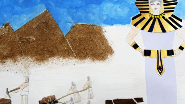 Io, Faraone d'Egitto. Disegno di Michele De Lillo-2
