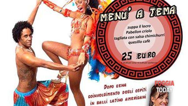 Latino Americano, cena e spettacolo a 'La Villa dei Gourmets'