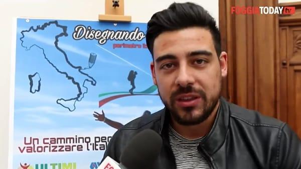 """Zaino in spalla, dal Gargano al resto dell'Italia. Nazario: """"Io a piedi e in solitaria per denunciare abusivismo e brutture"""""""
