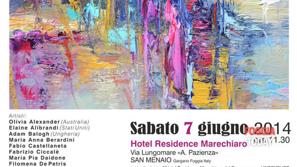Percezoni, workshop internazionale di pittura a San Menaio