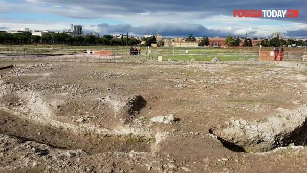 """Nel cuore di Foggia """"un villaggio neolitico di 5000 anni a.c."""": il segno di una grande storia che diventerà un parco urbano archeologico"""