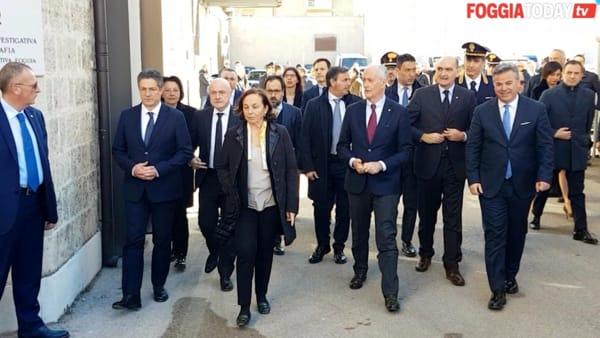 """Paolo Iannucci guiderà la DIA di Foggia. Il ministro dell'Interno: """"Qui ancora poche denunce, libertà diritto dei cittadini"""""""