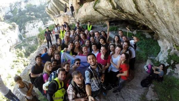 Erasmus Università di Foggia in visita guidata, immagini di repertorio_3-2
