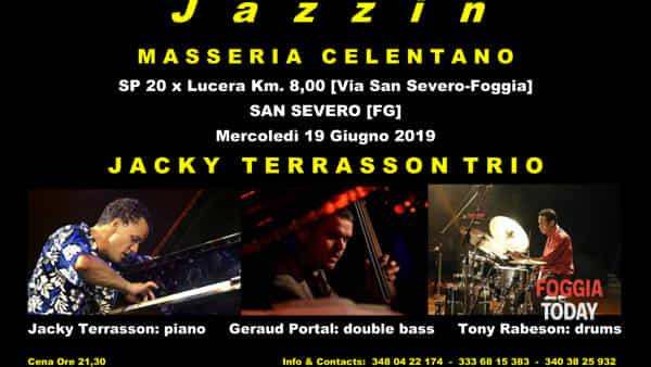Jacky Terrasson Trio live al Jazzin Masseria Celentano