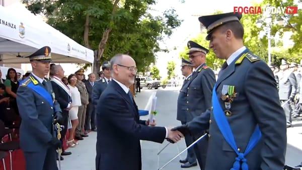 Risultati eccellenti, la Guardia di Finanza di Foggia premia i suoi uomini di valore: i nomi e la consegna degli encomi