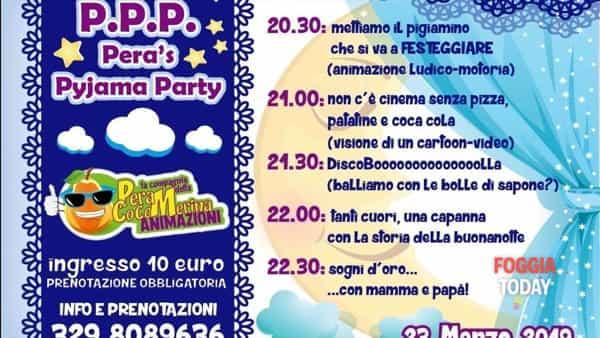 """""""Pyjama party"""" con la Compagnia della Pera Cocomerina"""