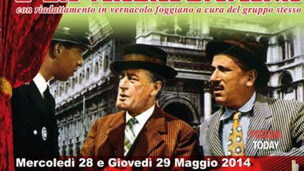 Totò, Peppino e La Malafemmina al Cine Teatro 'Sala Farina' di Foggia