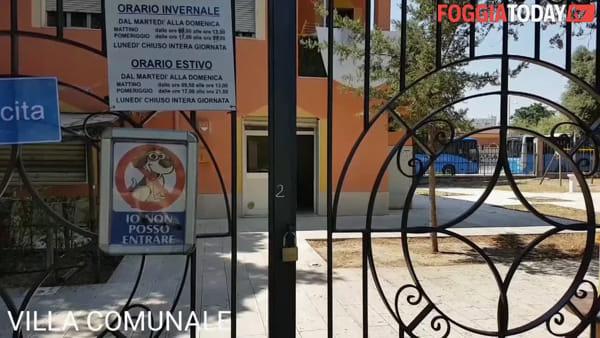 Inizio di settimana amaro per mamme e bambini di Foggia: i parchi gioco sono chiusi