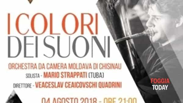 I colori dei suoni a Castelluccio dei Sauri con la direzione di Veaceslav Quadrini Ceaicovschi