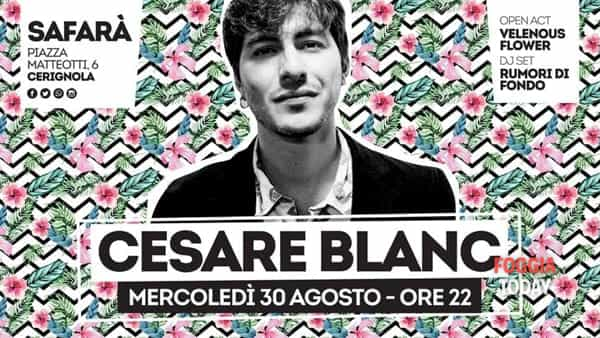 Cesare Blanc chiude l'Indiependent live targato Safarà
