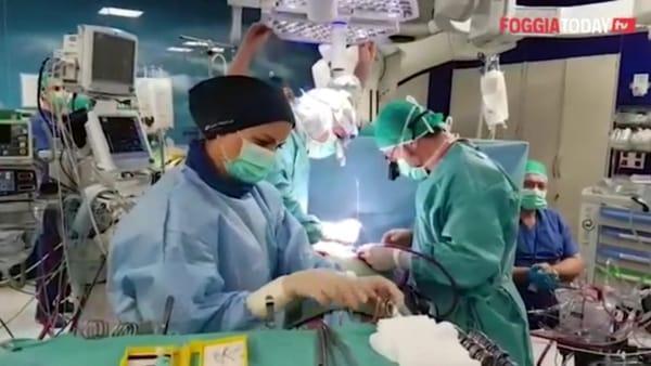 Grande intervento a 'Casa Sollievo': per la prima volta in Italia ricostruita la valvola aortica su due pazienti con la tecnica 'Caviaar'