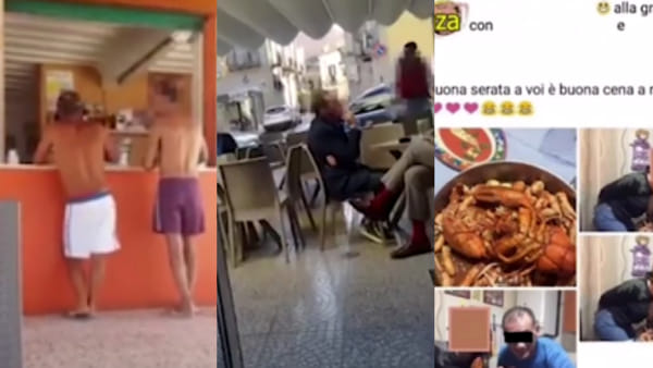 VIDEO | Ecco i 'furbetti' dell'ospedale: c'è chi andava al mare (e postava foto sui social), chi al bar e chi in giro per la città