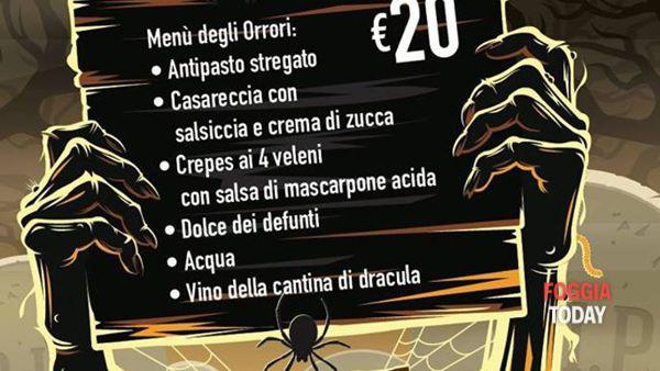 Halloween, 'La notte degli orrori' a 'La Villa dei Gourmets'