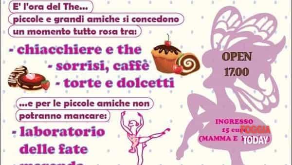 'Cupfairy eventlab': un laboratorio tutto rosa a Foggia