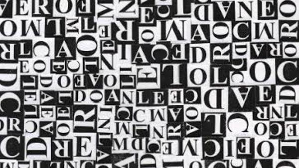 'Paesaggi verbali', personale di Domenico Carella