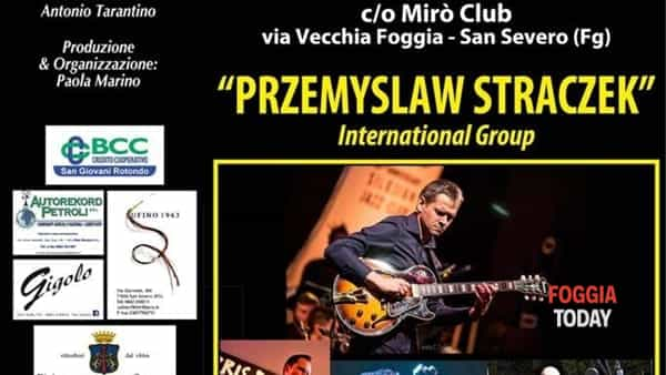 Przemyslaw Straczek quartet international group al Winter Jazz di San Severo