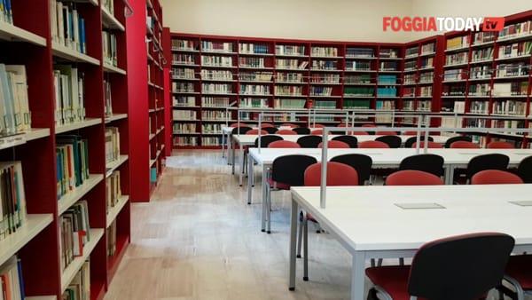 """Biblioteca nuova di zecca e un polo dedicato all'on.Cafarelli, così cresce l'Università di Foggia. Emiliano: """"Investiamo nel futuro"""""""