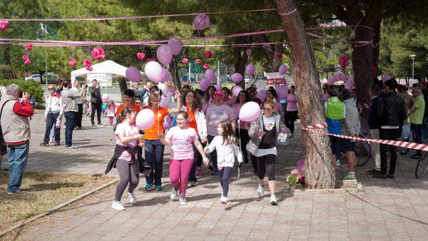 """Parco San Felice accoglie """"Correre Donna"""", la quarta edizione della corsa rosa"""