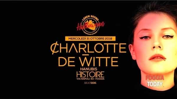 Speciale Halloween all'Histoire con Charlotte De Witte