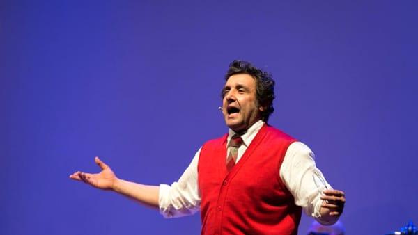 """""""La Macchina della Felicità"""": lo spettacolo di Flavio Insinna al Teatro Verdi"""