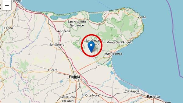 Cartina Geografica San Giovanni Rotondo.Gargano Terremoto San Giovanni Rotondo Del 14 Giugno 2019