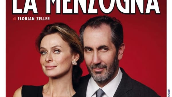 """""""La Menzogna"""": al Teatro Verdi lo spettacolo con la coppia Autieri-Calabresi"""