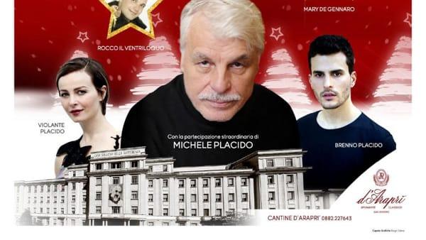 Michele, Violante e Brenno Placido sostengono la ricerca di Casa Sollievo: gli attori ospiti speciali del Concerto di Natale