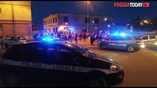 Ultim'ora a Foggia: non si ferma all'alt e travolge agente della polizia locale