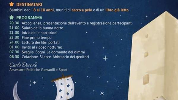 A Torre Alemanna la Notte bianca per lettori insonni con Sergio Guastini