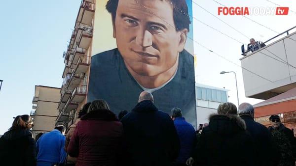 """Il volto di San Giovanni Bosco veglia sul Rione Candelaro: """"Dove ci sono i giovani lui c'è"""""""