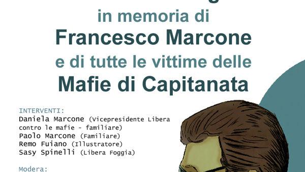 La Giornata della Legalità in ricordo di Francesco Marcone